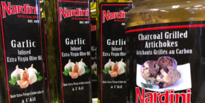 Nardini Brand Garlic Infused Extra Virgin Olive Oil