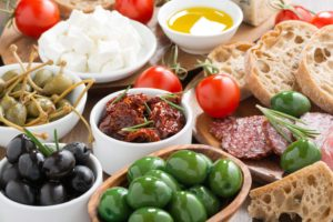 Finger Foods Platter of Savoury Foods